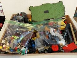 Mixed Lot Just Over 3 Lbs. Lego Blocks Star Wars People Horses Fences Hats Parts