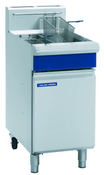 Blue Seal Evolution Gt46-n 2 X 13 Ltr Free Standing Natural Gas Twin Fryer