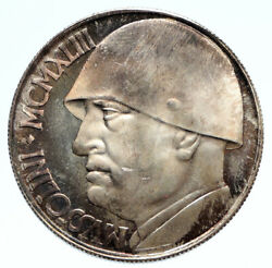 1928 Italy King Victor Emmanuel Iii Silver 20 Lire Coin Wwi Commemorative I96235