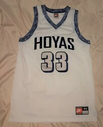 Mens Jersey Vintage Nike Georgetown Hoyas Basketball Authentic March Madness