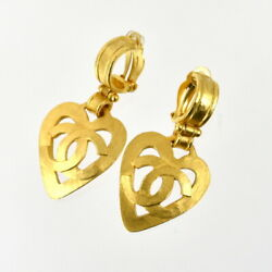 Earring Vintage 95p Women And039s Accessory Gold System Act One No.4592