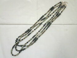 2017 Cuba Collection 3-fold 3-a-series Pearl Long Necklace A17c No.4632