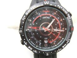 Timex Expedition Wrist Watch Tide Temp And Compass Working
