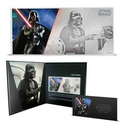Niue Darth Vader 1 Dollar 2018 Star Wars Coin Note 6a New Hope 5g Fine Silver