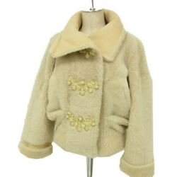 Louis Vuitton Mouton Fur Jacket Top Grade Winter Women And039s Made In No.6717