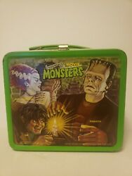 Vintage Aladdin 1979 Universal Movie Monsters Metal Lunchbox - No Thermos Read