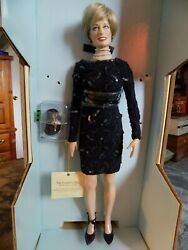 Franklin Mint Princess Diana Doll Le 750 With Brochure And Coa Please Read Below