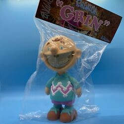 Ron English Charlie Grin First Grin Toy Release. Never Opened Signed From 09