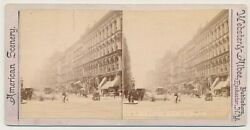 Chicago Sv - Randolph And State Streets - Webster And Albee 1890s