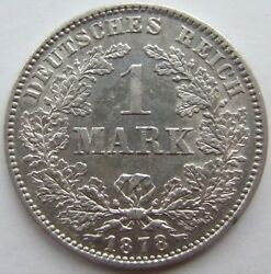 1 Mark 1878 J In Almost Extremely Fine