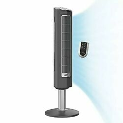 Lasko 2519 3-speed Wind Tower Fan With Remote Control 38 Inch Gray