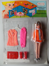 ´s Vintage - Mammy - Topper Dawn Cilly Clone Doll - 6 1/8in - Doll's House