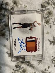 2018 Panini Flawless Deandre Ayton Ruby Auto Patch /15