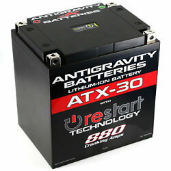 Antigravity Batteries Ag-atx30-rs Lithium Battery X30-rs 880 Ca