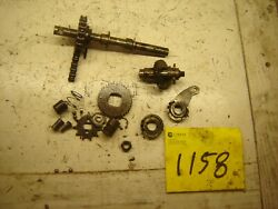 Zundapp 50cc 434 Moped Shaft And Misc Gears And Ball Bearings