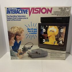 View Master Interactive Vision Game System Sesame Street Complete