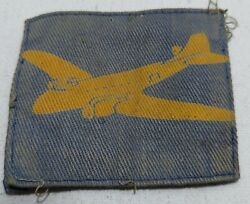 Royal Army Service Corps Air Despatch Patch Printed Ww2 Printed