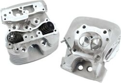 Sandamps Cycle 79cc Silver Super Stock Cylinder Heads For 2007-2016 Harley Big
