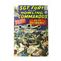 Sgt. Fury 10 In Good + Condition. Marvel Comics [a9]