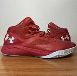Under Armour Clutchfit Drive 2 Red White Size 12 Sneakers 1258143 603 $35.00
