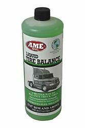 Ame Intl. 26140 Liquid Tire And Wheel Balance For 16-1/2- Up Truck Wheels In...