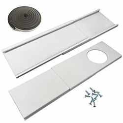 Jeacent Window Seal Plates Kit For Portable Air Conditioners Plastic Ac Vent Kit