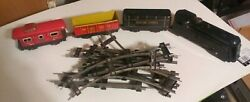 Marx Train's 4 Piece's And Track Super Nice Set Wind Up On Consignment No Return
