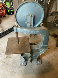 """Delta Bandsaw. 10"""" Vintage Collectible Band Saw. Woodworking"""