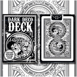 Limited Dark Deco Deck Playing Cards By Us Playing Card