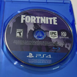 Fortnite Playstation 4 2017 Ps4 Rare Physical Disc Only Tested Oop