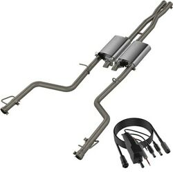 Qtp 15-18 For Dodge Challenger 5.7l 304ss Screamer Cat-back Exhaust W/3in Tips