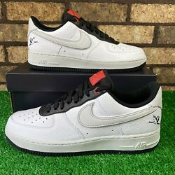 🔥nike Air Force 1 And03907 Lx Da8482-100 And039craneand039 White/black Premium Af1 Shoes🔥