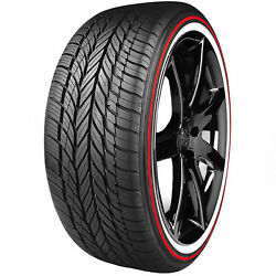 4 235/55hr17 Vogue Red Stripe Limited Edition Tyres 235 55 17 Tires