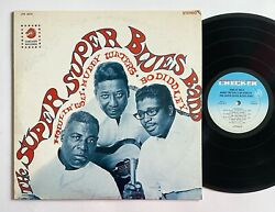 Howlin Wolf Muddy Waters Bo Diddley Super Super Blues Band Checker 3010 Lp