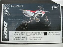 One Industries David Bailey Special Edition Plastic Graphics Set For Honda Cr's