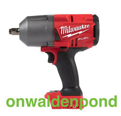 M18 Fuel 1/2 Impact Wrench Milwaukee 2767-20 Brushless Friction Ring Tool New