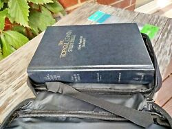 1977 Nasb Topical Chain Study Bible Hc Conc/maps Vg W Magnifier And Bible Cover