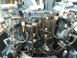 1991 Yamaha 115hp 2-stroke Powerhead Only Long Block 130 Plus Psi Compression