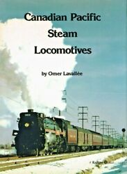 Canadian Pacific Steam Locomotives - Numbered And Signed By Author - Used Hb