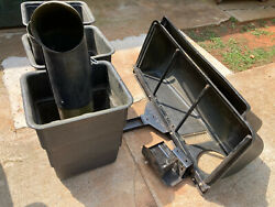 Grass Catcher System 3 Plastic Containers For Murray Mower 46 Cut No Shipping