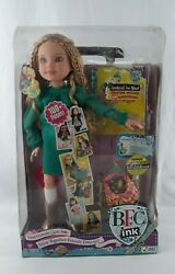 """Vintage Bfc Ink Kaitlin 18"""" Doll With Accessories And Journal Rare"""