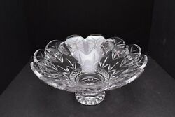 Huge Waterford Designers Gallery Collection Butterfly Centerpiece Console Bowl
