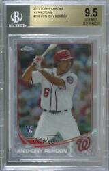 2013 Topps Chrome X-fractor Anthony Rendon 128 Bgs 9.5 Rookie