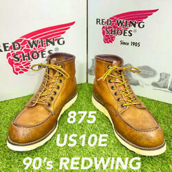 Reliable Quality 0453 Discontinued 875 Red Wing Redwing Free Shipping 10e