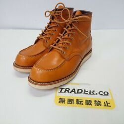 Used Redwing Red Wing Irish Setter 7 Hole Work Boots 9875 Leather Boots Size 2