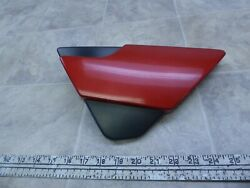 1986 Yamaha Fzx700 Fazer Y327-1 Red Right Side Cover Panel