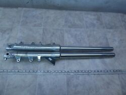 1986 Yamaha Fzx700 Fazer Y327-1 Left And Right Front Forks Suspensions Set