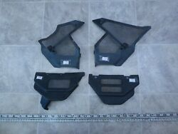 1986 Yamaha Fzx700 Fazer Y327-1 Left And Right Side Frame Vent Cover Trim Set