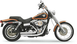 Bassani Xhaust Chrome Firesweep Turnouts For Harley Davidson Dyna 06-15 13113d