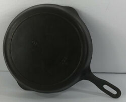 Vintage 8 Griswold Iron Mountain Cast Iron Skillet Flat 1033a Restored 1940s